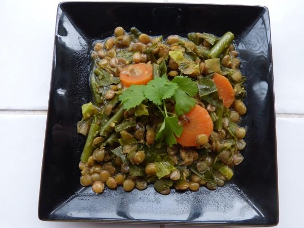 Green Lentil Curry