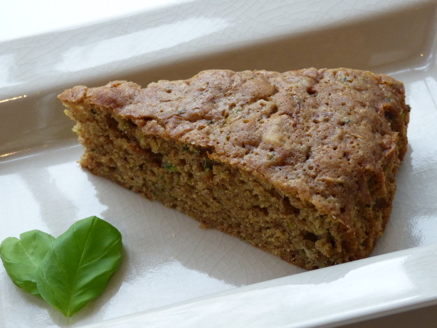 Spelt Courgette Cake